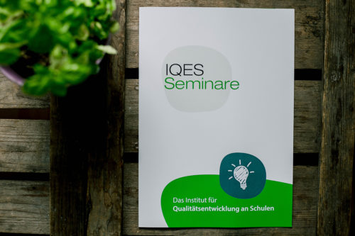 IQES Seminare – Corporate Design